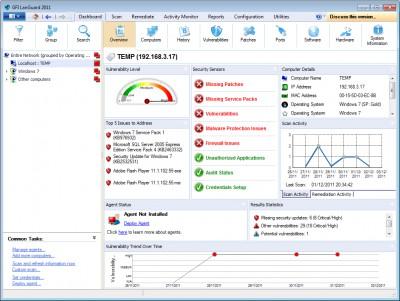 GFI LanGuard 2014 R2 screenshot