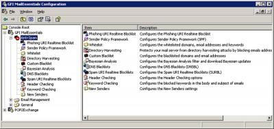GFI MailEssentials for Exchange/SMTP 12 screenshot