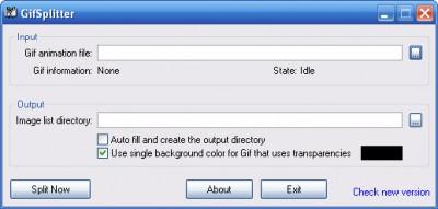 GifSplitter 2.0 screenshot