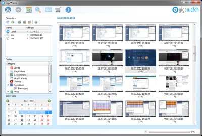 GigaWatch 1.4.0.12 screenshot