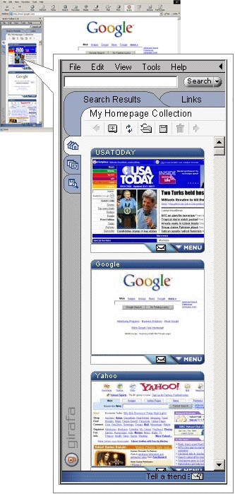 Girafa Toolbar 2.12 screenshot