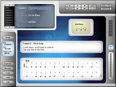 Gitarrero Beginner 1.1 screenshot
