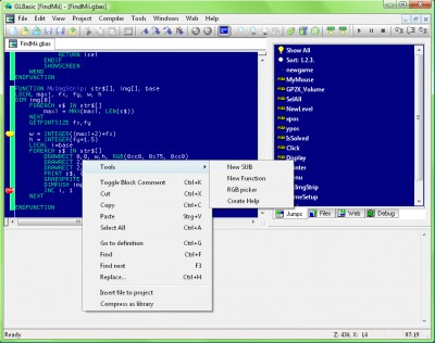 GLBasic SDK premium 4.0 screenshot