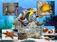 Go Amazing 3D Aquarium - Screensaver 2.50 screenshot