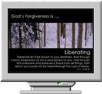 God's Forgiveness Christian Screen Saver 3.0 screenshot