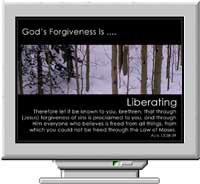 God's Forgiveness Screen Saver 3.0 screenshot