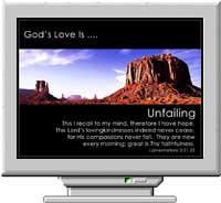God's Love Christian Screen Saver 3.0 screenshot
