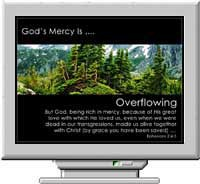 God's Mercy Screen Saver 3.0 screenshot