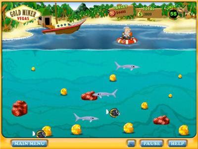 Gold Miner: Vegas 1.0 screenshot