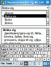 Gold Thesaurus HPC 2.7 screenshot