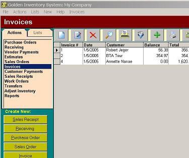 Golden Inventory System 4.1 screenshot