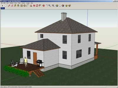 Google SketchUp 6.0.277 screenshot