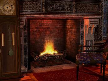 Gothic Fireplace - Animated Wallpaper 5.07 screenshot