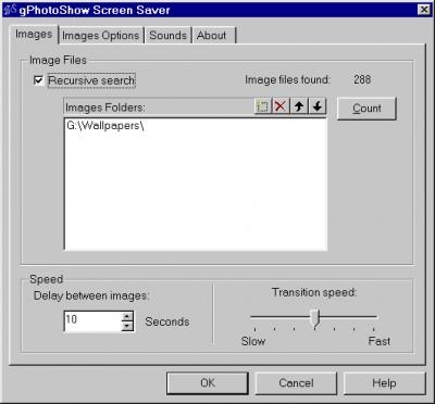gPhotoShow 1.8.0 screenshot