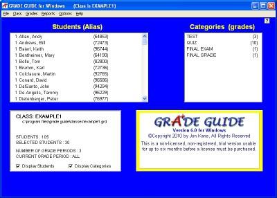GRADE GUIDE 6.02 screenshot