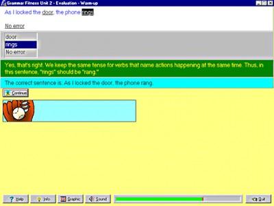 Grammar Fitness 4.0 screenshot