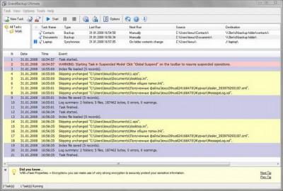 GrandBackup Ultimate 1.2 screenshot