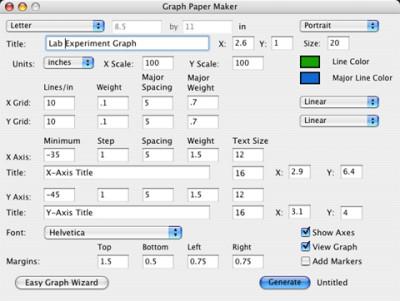 Graph Paper Maker 3.0.1 screenshot