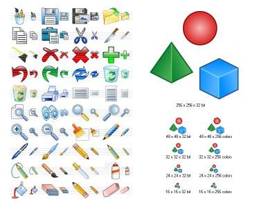 Graphic Icon Set 2013.2 screenshot