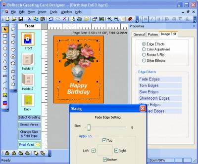 Greeting Card Designer 5.4.02 screenshot