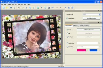 Greeting Card Studio 5.63 screenshot