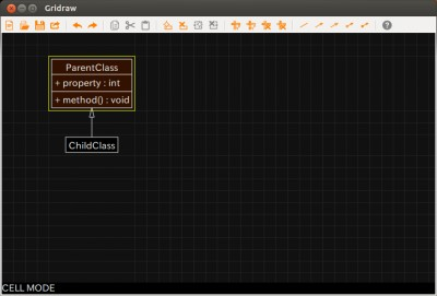 Gridraw 0.02 screenshot