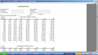 Growing Money+ 1.2 screenshot