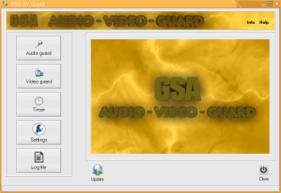 GSA AV Guard 3.3.0 screenshot