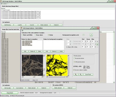 GSA Image Analyser Batch Edition 1.1.9 screenshot