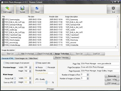 GSA Photo Manager 1.4.2 screenshot