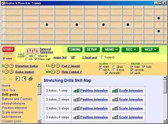 Guitar and Bass Ear Trainer 1.5 screenshot