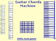Guitar chords machine 1 screenshot