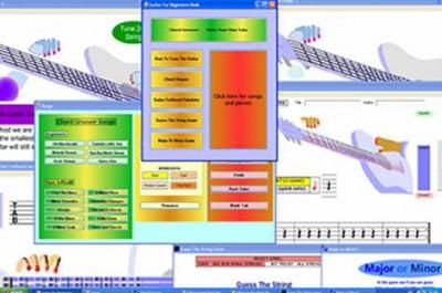 Guitar Learning Software 2.0 screenshot