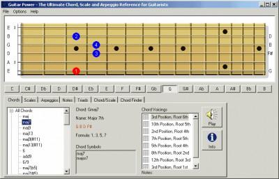 Guitar Power 1.10 screenshot