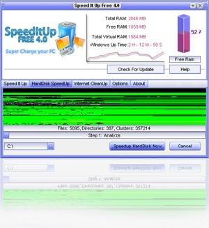Guranteed Free PC Speedup 4.61 screenshot