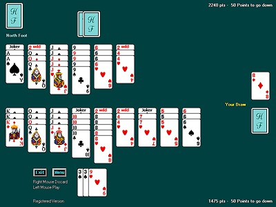 Hand Foot Canasta 4.14 screenshot