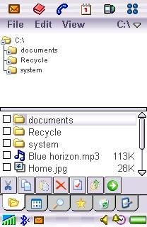 Handy Explorer for Sony Ericsson 1.0 screenshot
