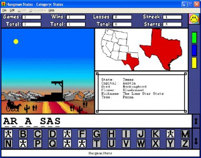 Hangman States for Windows 1.0.0 screenshot