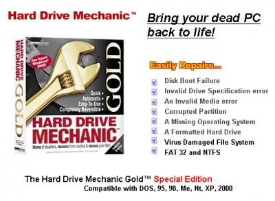 Hard Drive Mechanic Gold 2008.243 screenshot
