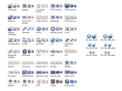 Hardware Icon Set 2010.1 screenshot