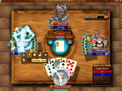 Hardwood Euchre 1.1 b18 screenshot