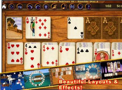 Hardwood Solitaire III 1.1 B33 screenshot