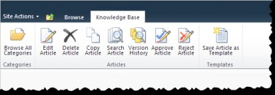 HarePoint Knowledge Base for SharePoint 1.0 screenshot
