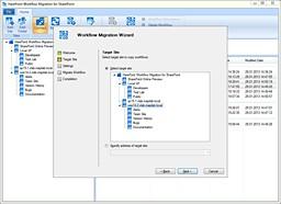 HarePoint Workflow Migration 1.0 screenshot