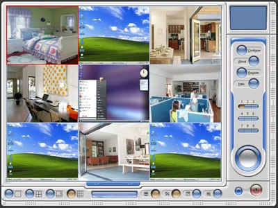 HBSoft Multi-Webcam Surveillance 2.1 screenshot