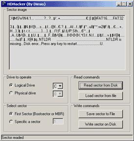 HDHacker 1.6.5 screenshot