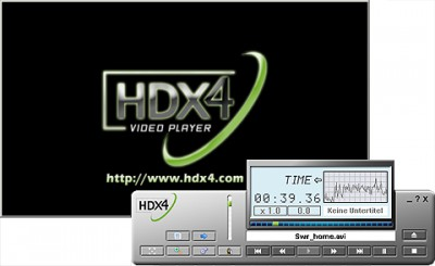 HDX4 Player 1.3.14 screenshot