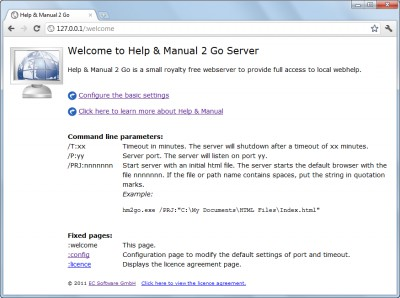 Help+Manual 2 Go 1.01 screenshot
