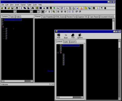 HelpBreeze HTML Help/JavaHelp Edition 3.0e screenshot