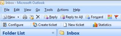 HelpDesk OSP, for Outlook and SharePoint 4 screenshot